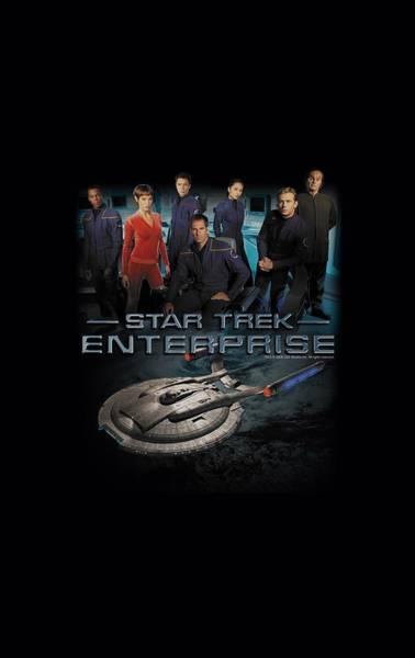 Frontier Digital Art - Star Trek - Enterprise Crew by Brand A