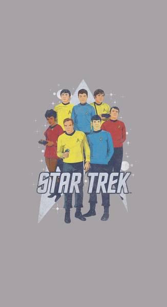 Tv Wall Art - Digital Art - Star Trek - Here Here by Brand A