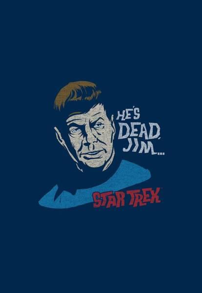 Frontier Digital Art - Star Trek - He's Dead Jim by Brand A