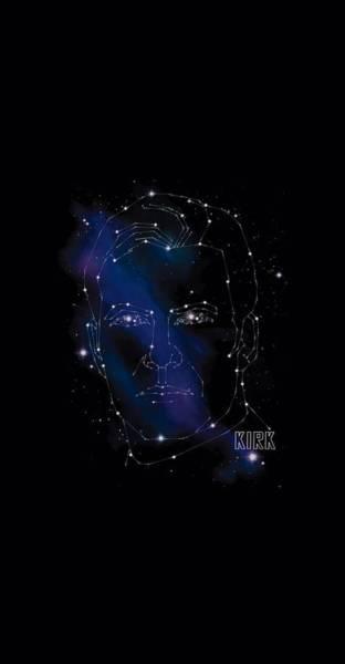 Frontier Digital Art - Star Trek - Kirk Constellations by Brand A