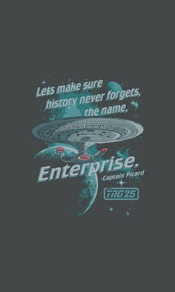 Frontier Digital Art - Star Trek - Never Forget by Brand A