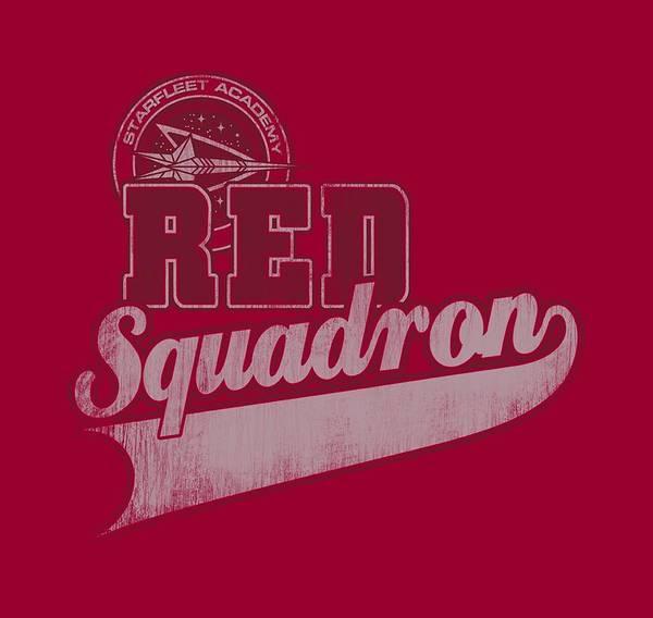 Frontier Digital Art - Star Trek - Red Squadron Sport by Brand A