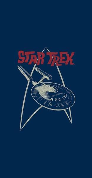 a8277a5a Star Trek Enterprise Wall Art - Digital Art - Star Trek - Ship Symbol by  Brand
