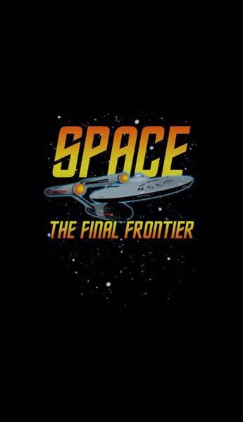 Tv Wall Art - Digital Art - Star Trek - Space by Brand A
