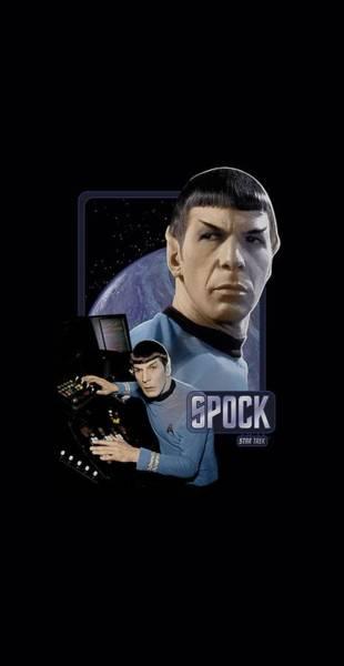 Tv Wall Art - Digital Art - Star Trek - Spock by Brand A