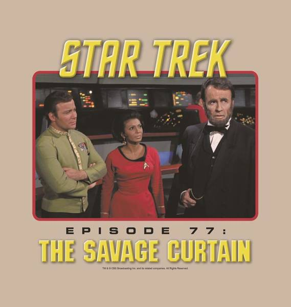 Frontier Digital Art - Star Trek - The Savage Curtain by Brand A