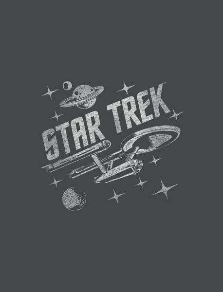 Frontier Digital Art - Star Trek - Through Space by Brand A