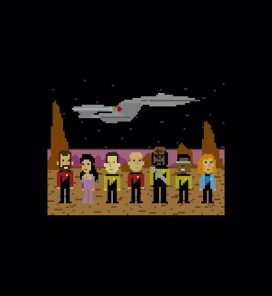Frontier Digital Art - Star Trek - Tng Trexel Crew by Brand A
