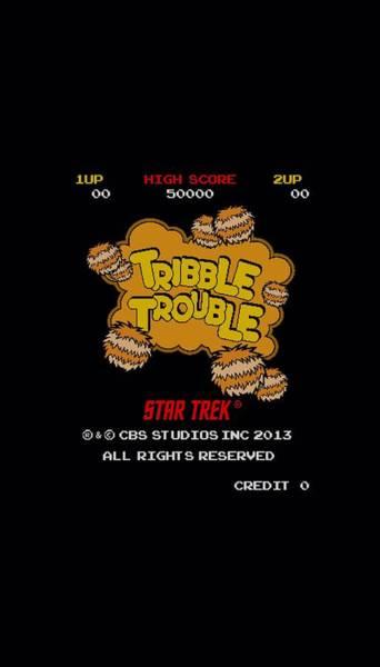 Tv Wall Art - Digital Art - Star Trek - Tribble Trouble by Brand A