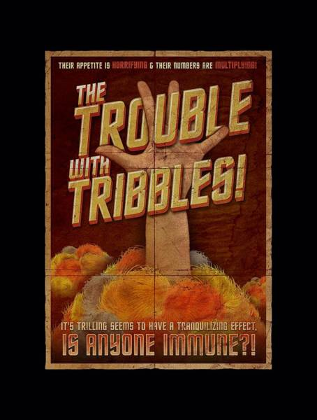 Frontier Digital Art - Star Trek - Tribbles: The Movie by Brand A