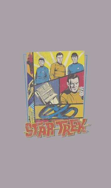 Frontier Digital Art - Star Trek - Vintage Collage by Brand A