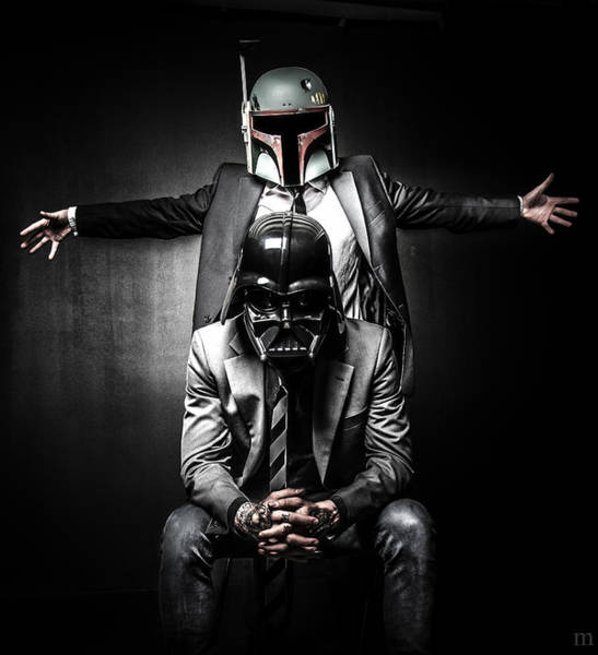 Wall Art - Photograph - Star Wars Suit Up by Marino Flovent