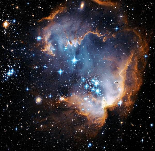 Wall Art - Photograph - Starbirth Region Ngc 602 by Hubble Heritage Teamnasaesastsciaura