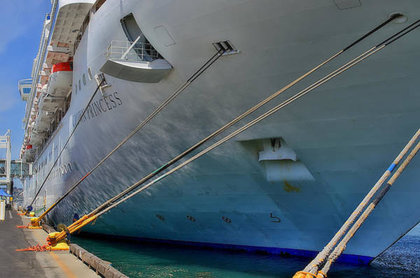 Princess Cruise Lines Photograph - Starboard by See My  Photos