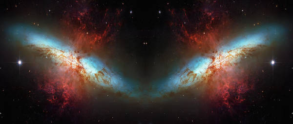 Wall Art - Photograph - Starburst Galaxy Reflection by Jennifer Rondinelli Reilly - Fine Art Photography