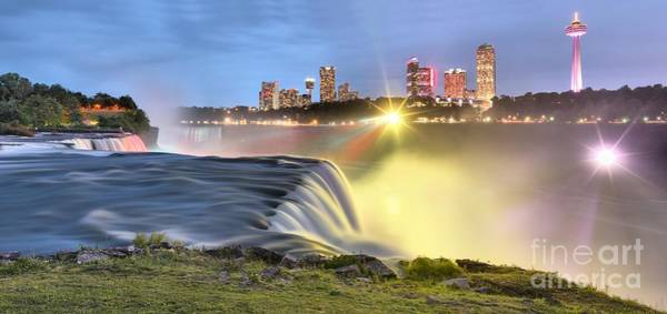 Photograph - Starbursts Over Niagara by Adam Jewell