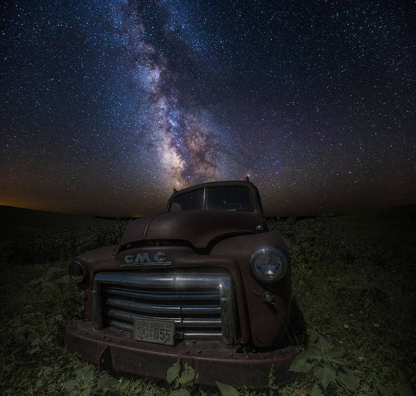 Photograph - Stardust And Rust Gmc  by Aaron J Groen