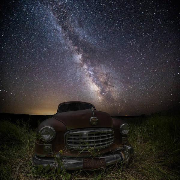 Photograph - Stardust And Rust  Nash Motors by Aaron J Groen