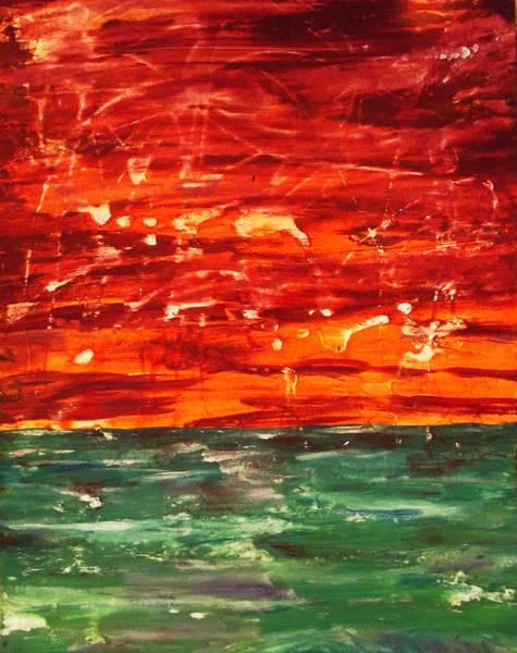 Star Formation Painting - Stardust - Begin In The End by Daniel Piskorski