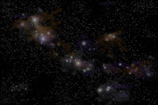 Photograph - Starfield No.11514 by Marc Ward
