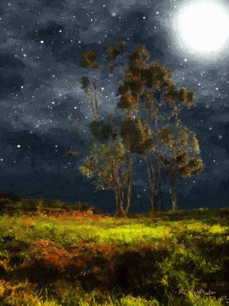 Painting - Starfield by RC DeWinter