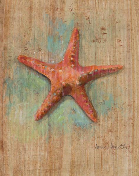Starfish Painting - Starfish II by Lanie Loreth