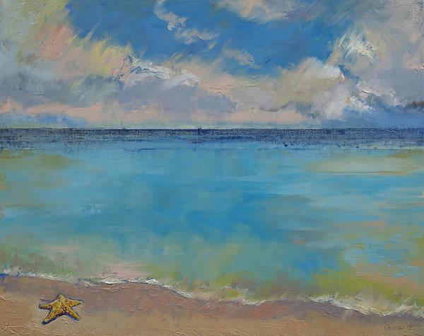 Starfish Painting - Starfish by Michael Creese