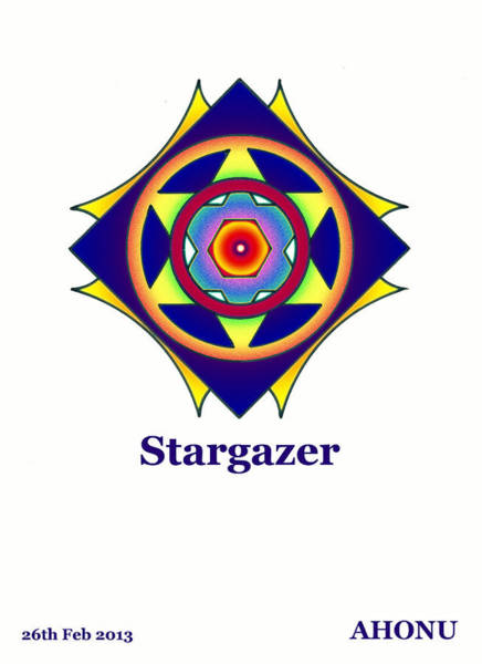 Painting - Stargazer by Ahonu
