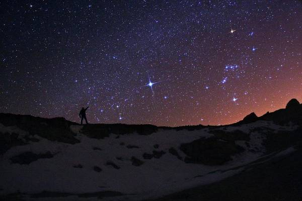 Astronomer Photograph - Stargazer And Night Sky by Babak Tafreshi/science Photo Library