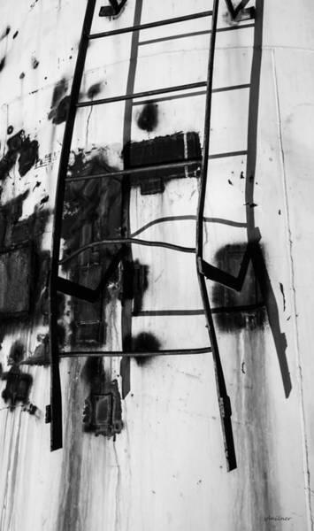 Rungs Wall Art - Photograph - Stark Reach - Abstract by Steven Milner