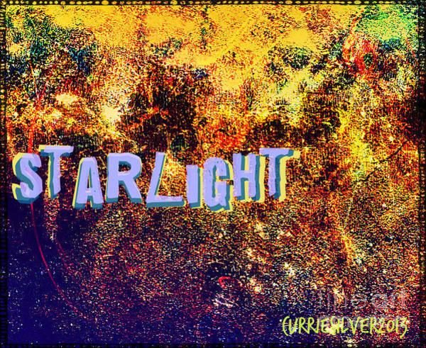 Wall Art - Digital Art - Starlight by Currie Silver