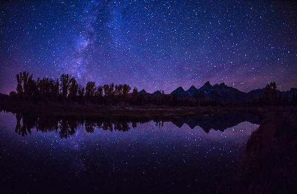 Schwabacher Photograph - Starry Night By Schwabachers Landing by Vishwanath Bhat