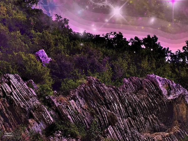 Photograph - Starry Night Scene by Augusta Stylianou