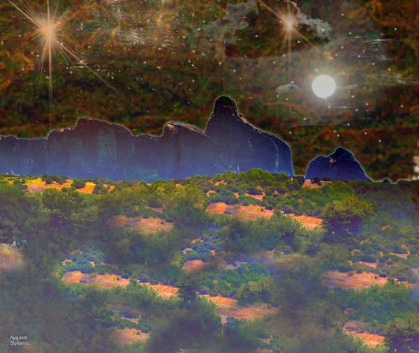 Photograph - Starry Nightfall by Augusta Stylianou