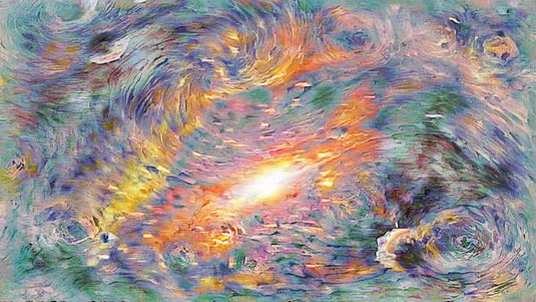 Digital Art - Starry Starry Cosmos by Rick Wicker