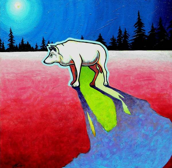 Lone Star Painting - Starry Starry Night by Joe  Triano