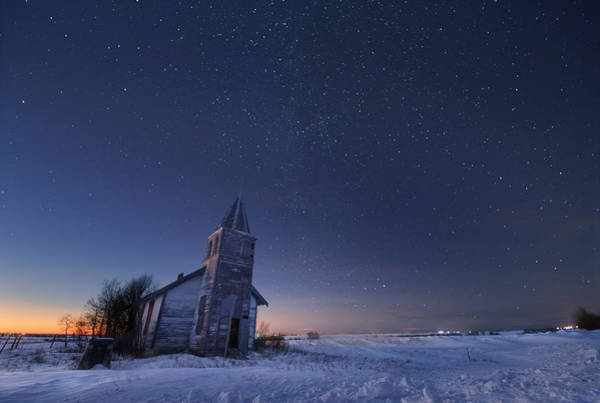Milky Way Wall Art - Photograph - Starry Winter Night by Dan Jurak