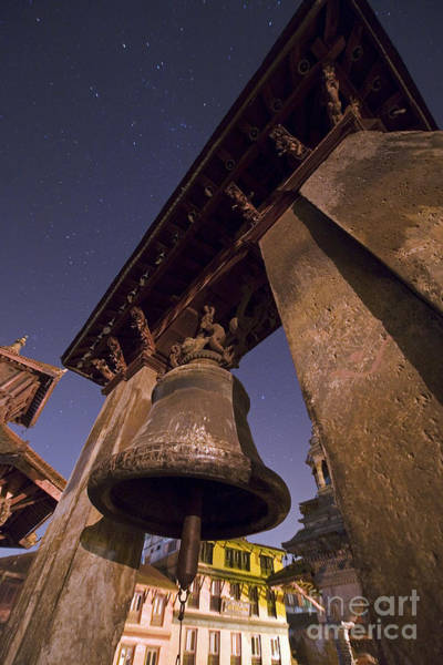 Wall Art - Photograph - Stars Above Durbar Square, Bhaktapur by Babak Tafreshi