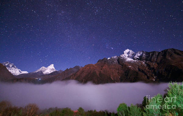 Wall Art - Photograph - Stars Above Himalaya by Babak Tafreshi