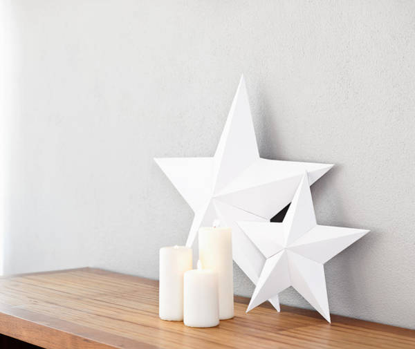 Photograph - Stars And Candles by U Schade