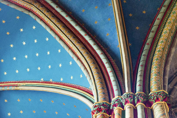 Photograph - Stars And Colors On The Ceiling Of A by Jean-philippe Tournut