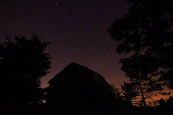 Photograph - Stars And Lightning Bugs On The Farm by Dan Sproul