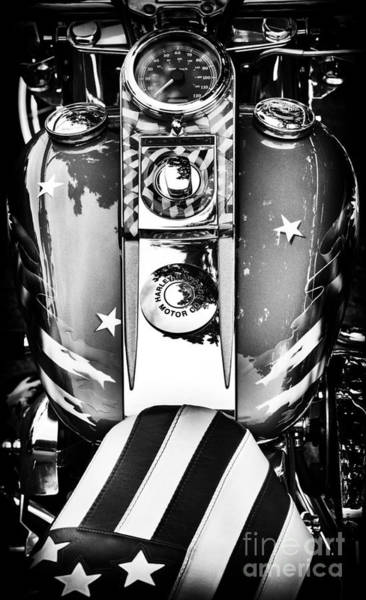 Airbrushed Wall Art - Photograph - Stars And Stripes Hd by Tim Gainey