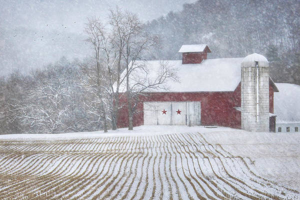 Pennsylvania Barn Photograph - Stars And Stripes by Lori Deiter