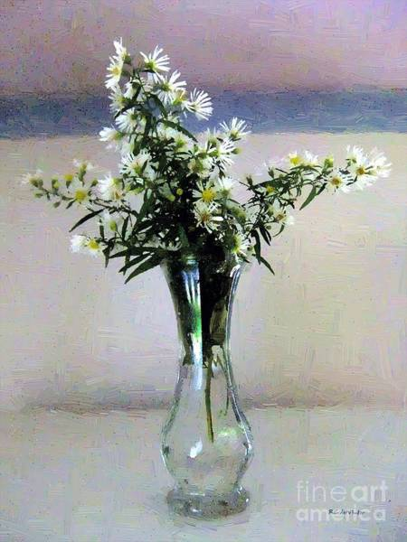 Painting - Stars In A Vase by RC DeWinter