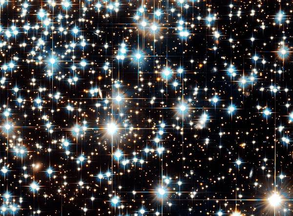 Photograph - Stars In Globular Cluster Ngc 6397 by Nasa/esa/h. Richer, Ubc/stsci/science Photo Library