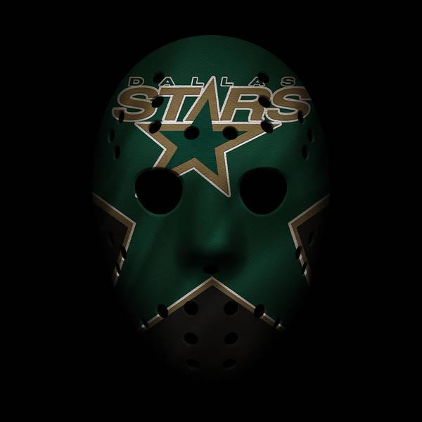 Wall Art - Photograph - Stars Jersey Mask by Joe Hamilton