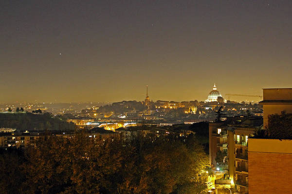 Photograph - Stars Over The Vatican City by Tony Murtagh
