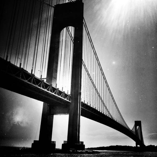 Stars Over The Verrazano Art Print