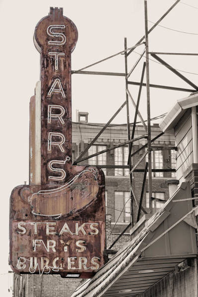 Photograph - Stars Steaks Frys And Burgers by JC Findley